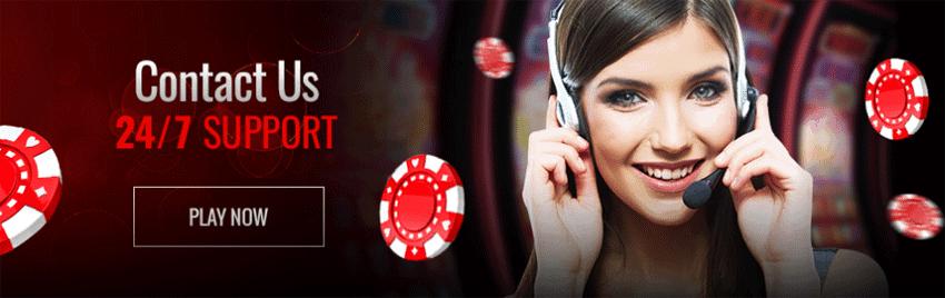 Pure Casino Customer support