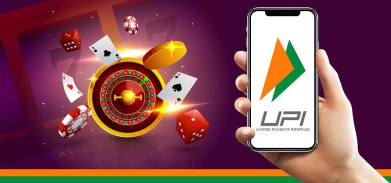 UPI Transfer in Casino games